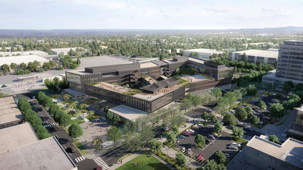 REI offers a first look at its future HQ campus in Bellevue's Spring District