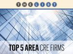 Top of the List: Commercial Real Estate Companies