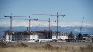 Gaylord Rockies is an $824 million convention center and resort under construction and slated to open in late 2018.