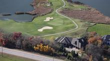 Exquisite Custom Build on Signature Hole 13 of Legends Golf Course!