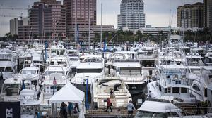 Palm Beach International Boat Show.