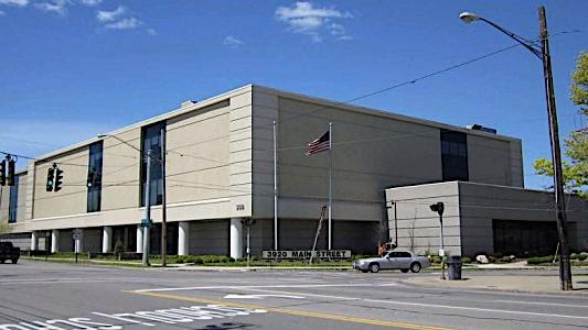 What happens now to KeyBank's call center in Amherst?