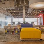 Photos: See the nap rooms, murals and arcade games of Mattress Firm's new HQ