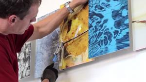 TAKE3 VIDEO: Can art heal? This artist is betting her business on it