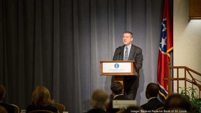 Fed president's message to Memphis: Growth will be steady and slow; don't pretend otherwise