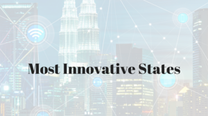 How does Texas rank among the most innovative states?