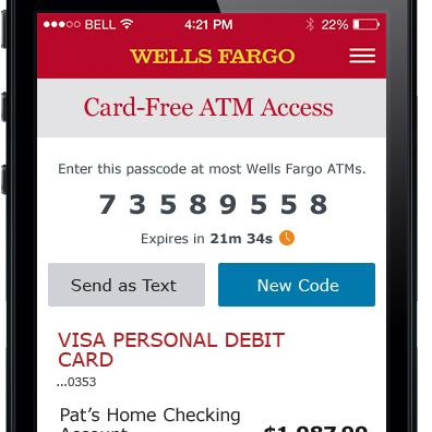How To Close Wells Fargo Account >> Wells Fargo officially launches cardless ATMS at all 13,000 locations - Charlotte Business Journal