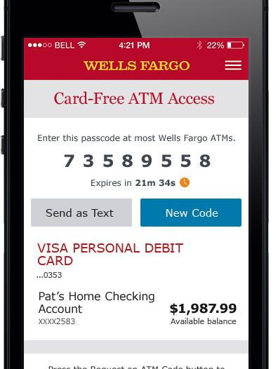 Wells Fargo officially launches cardless ATMS at all 13,000