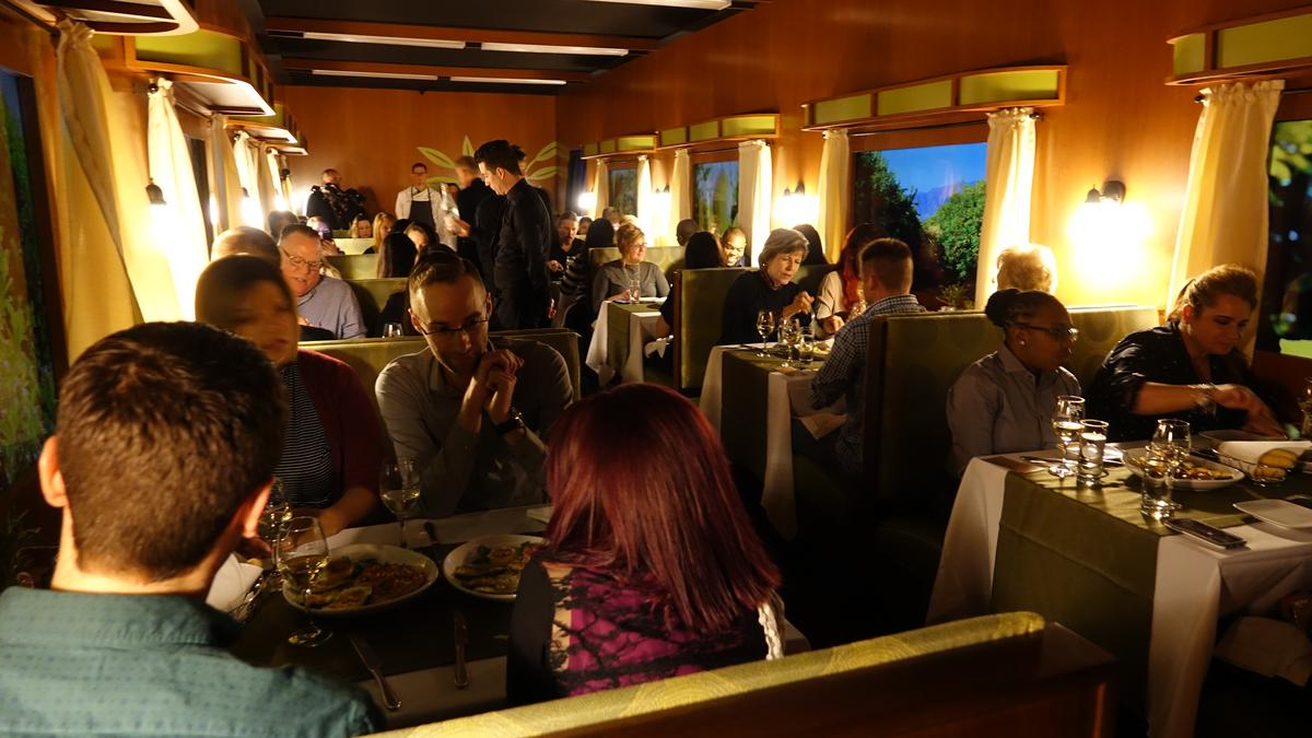 Olive Garden introduces new menu with virtual-reality train ride ...