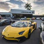 Lamborghini supercar makes South Florida debut (Video)