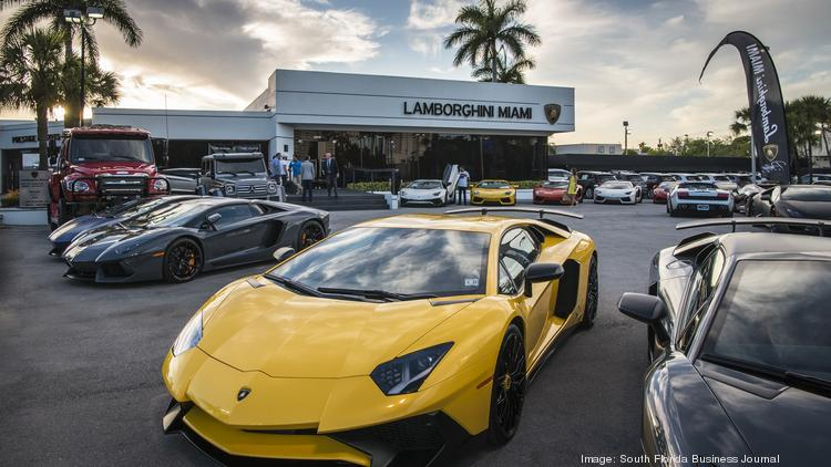 Lamborghini Supercar Makes South Florida Debut Video