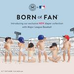 Honest Co. partners with Yankees for team-themed baby diapers
