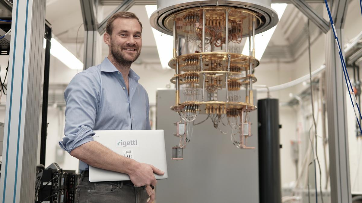 Resultado de imagen para Bay Area's Rigetti Quantum Computing