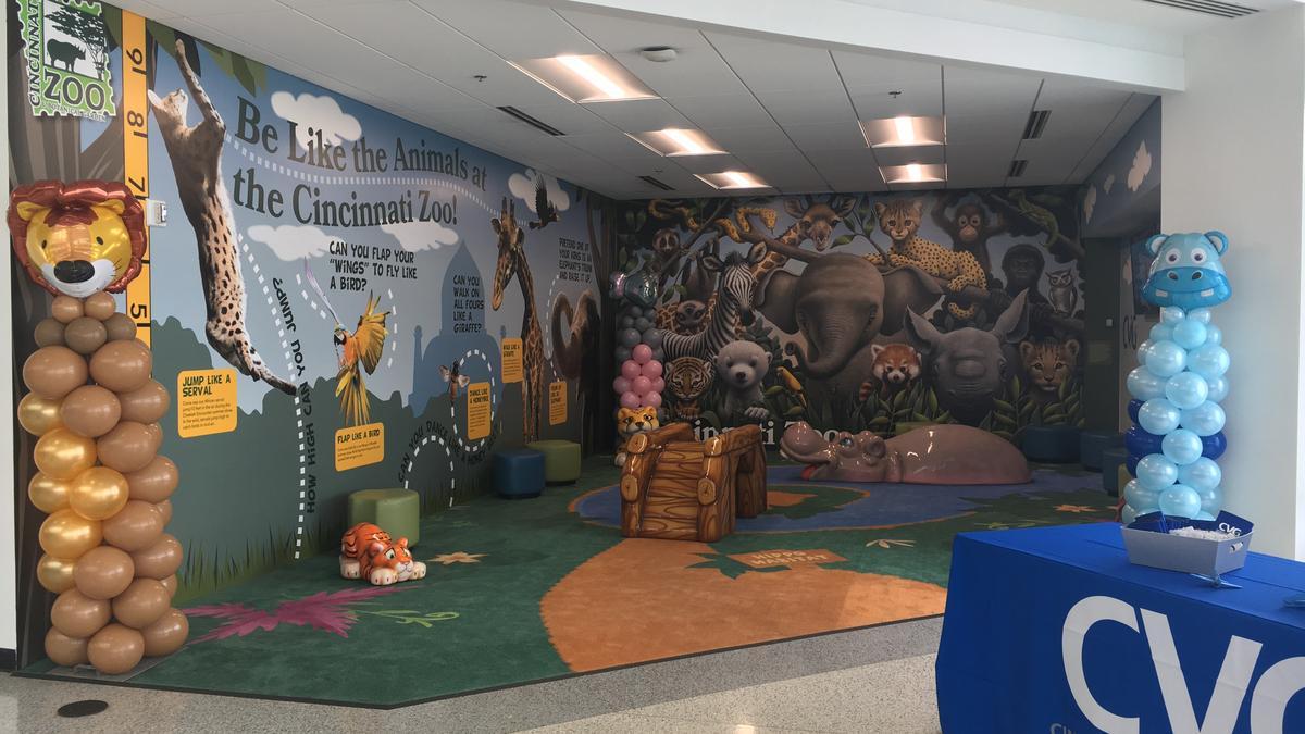 Cincinnati Zoo Signs On To Build Play Area At Cvg