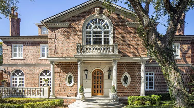 Steve Matzkin, a Hollywood producer and founder and CEO of Dental Care Alliance, has listed this home for sale at $4.95 million. Click through for a tour.