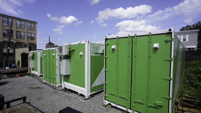 Federal Realty bringing hydroponic shipping containers to a shopping center near you