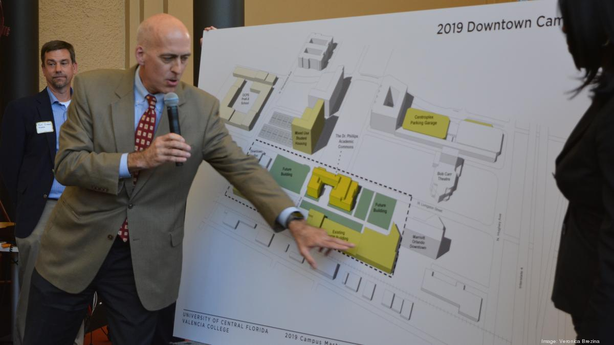 Ucf Downtown Officials Reveal New Site Maps Of Campus More On