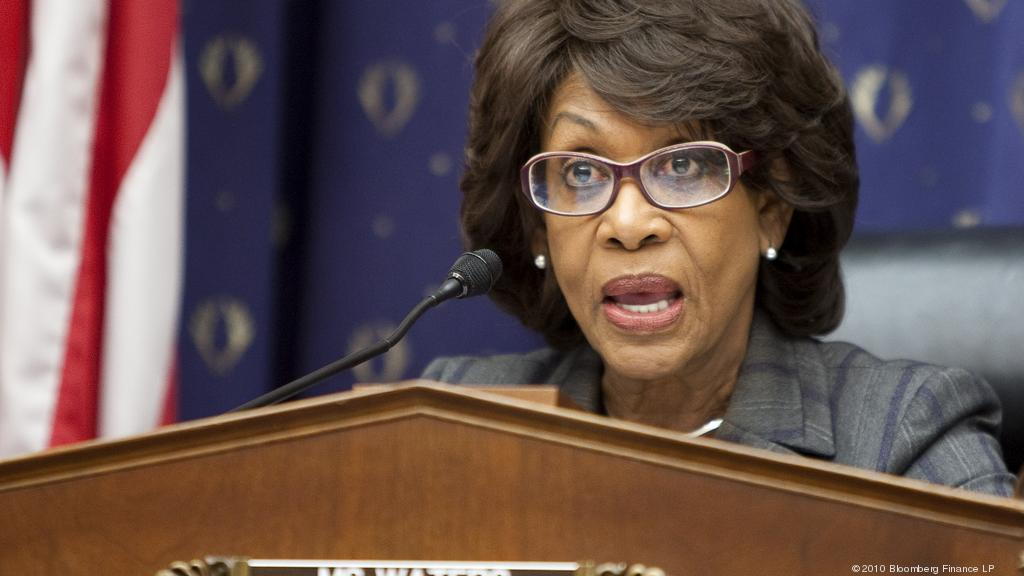 Maxine Waters won't be intimidated