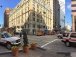 Cincinnatian Hotel fire closes downtown streets