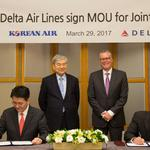 ​Delta, Korean Air to form joint venture