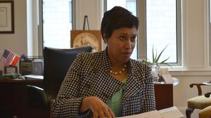 Why D.C.'s mayor isn't worried about a mass exodus of federal agencies