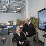 Husband-and-wife team put their own design on office furniture business
