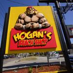 Sneak peek: <strong>Hogan</strong>'s Beach Shop attracts fans, legends during grand opening preparations (Video)