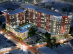 Starting apartments downtown, right now? Developer believes he'll be just fine