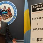 Controller says questionable credit card charges mean $220,000 owed to city