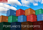 What are Portland's top 5 exported goods?