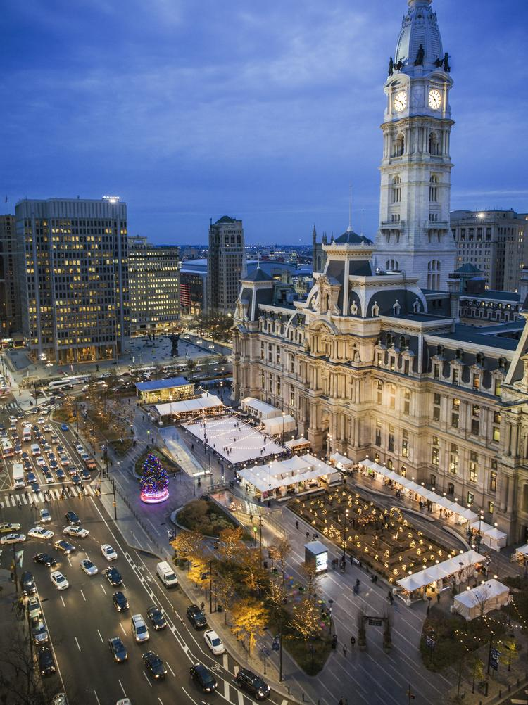 Christmas Village Philadelphia.Philadelphia Put Comcast S New Iot Network To The Test At
