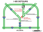 Atlanta mayor: I-85 bridge collapse