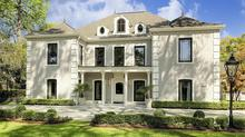Contemporary French Estate on Prestigious Kirby Drive