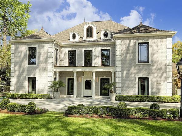 Contemporary French Estate on Prestigious Kirby Drive