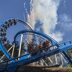 Photos: Great America goes patriotic (and floorless) with new coaster