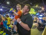 Final Four nearly sets attendance record