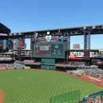Sell-out crowd watches Arizona Diamondbacks win home opener with Chris Owings walk-off run