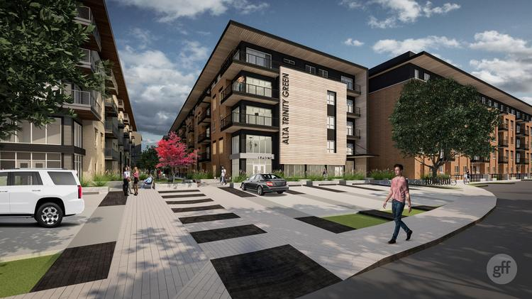 The next phase of Trinity Green will bring additional urban-style apartments to West Dallas.
