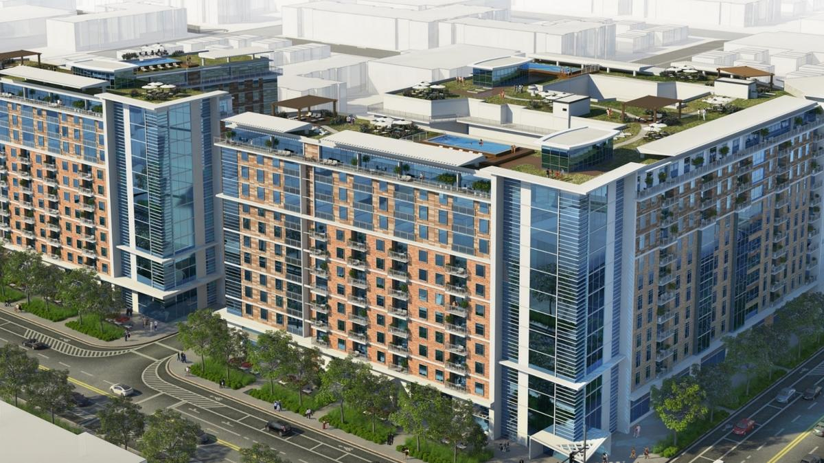 Multifamily housing, school, ice rink among proposals for DMPED Northwest One site - Washington Business Journal