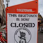 200 bikes in Nike-sponsored bike-share program vandalized