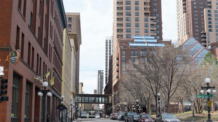 Building manager defiant after St. Paul rejects early close for skyway