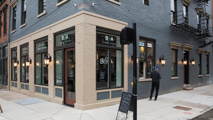 Look Inside Otr S Newest Restaurant B A Street Kitchen Photos Video Cincinnati Business Courier