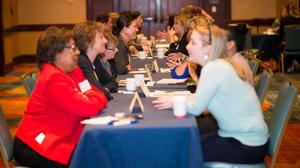 Scenes from the BBJ's Mentoring Monday