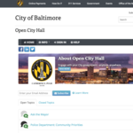 Baltimore launches website for residents to interact with mayor, agencies