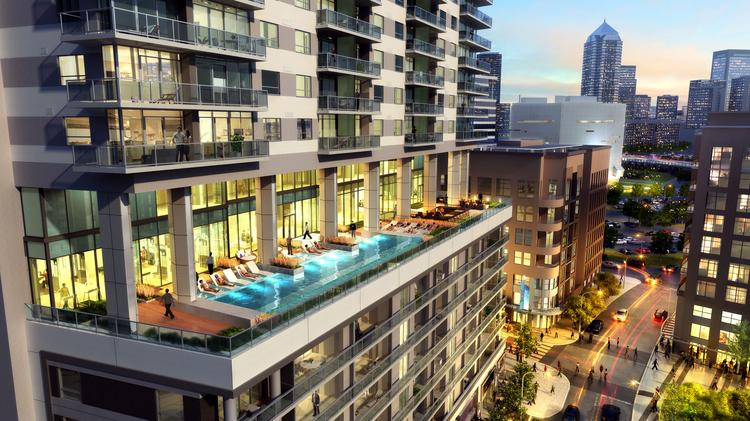 Homebuilder Lennar Affiliate Tops Out On 23 Story Tower In
