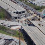 DOT engineers for fast-tracked I-85 bridge rebuild win award