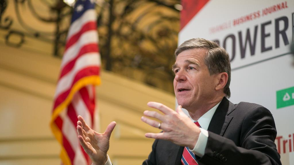 Tax cuts or teacher pay? Gov. Cooper tells NC CEOs it's a no-brainer
