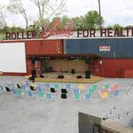 Railgarten's shipping containers could be a problem for the venue