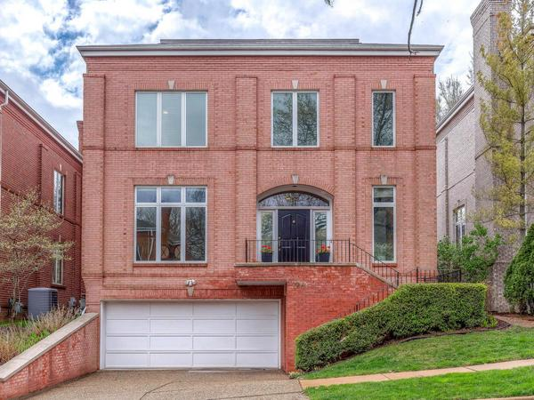 Home of the Day: STUNNING AND SOPHISTICATED CLAYTON TOWNHOME