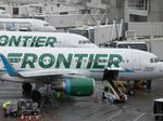 Frontier Airlines slips on complaints, on-time rate